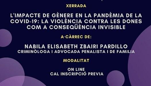Commemoració Dia Internacional per a l'eliminació violència envers les dones
