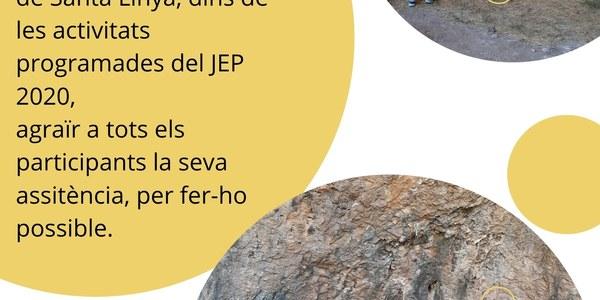 Jornades portes obertes Cova Gran de Santa Linya 2020