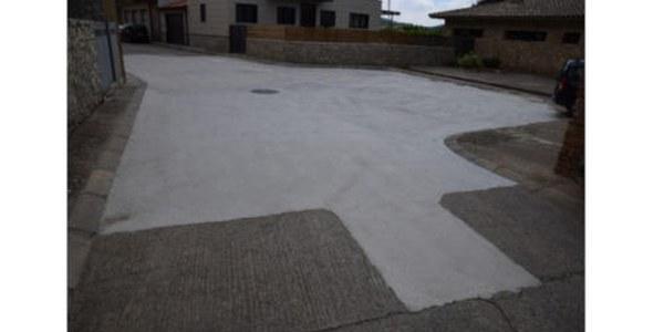 Millora del paviment de la plaça Girador de Tartareu
