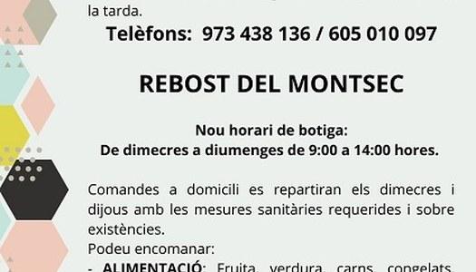 SERVEIS A DOMICILI FARMACIOLA I REBOST DEL MONTSEC