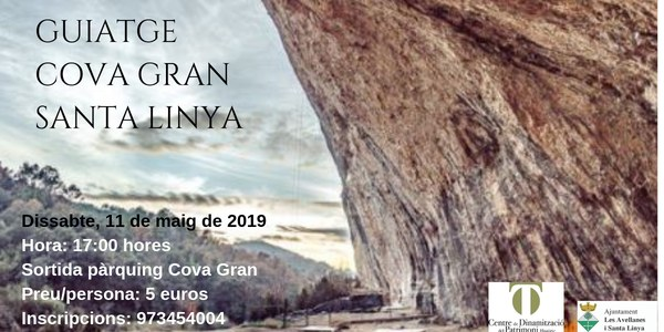 SORTIDA GUIADA A LA COVA GRAN DE SANTA LINYA